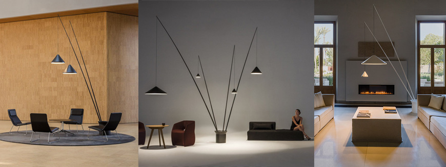 гигантский торшер от Vibia - North